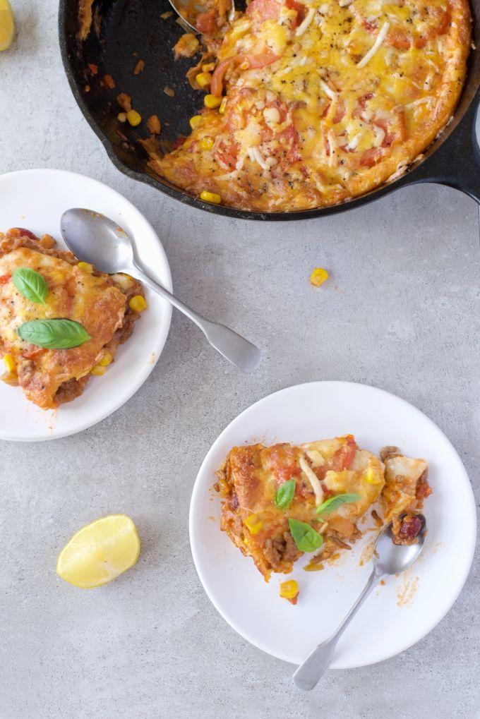 mexiaanse tortilla lasagne (1)