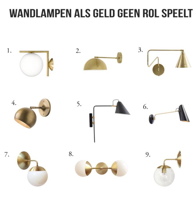 goedkope mooie wandlampen gids