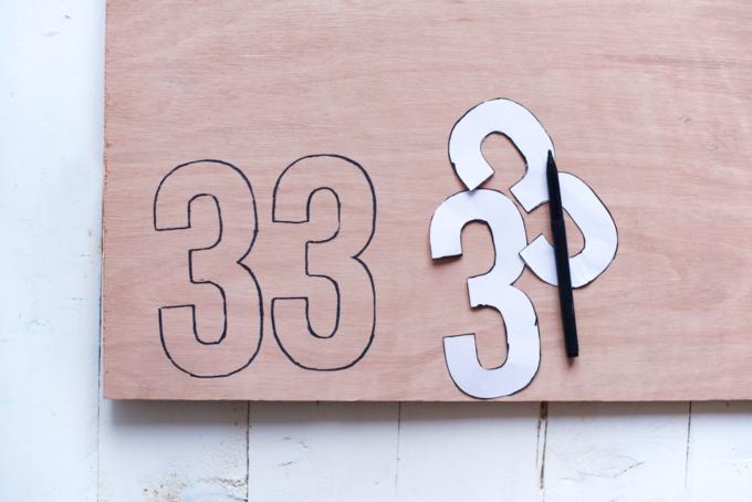 DIY zelfgemaakte huisnummers (6)