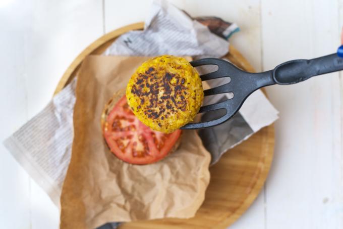 Vega burger, recept vegetarische burger