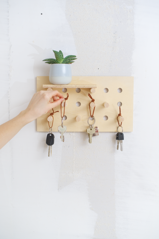 Sleutelrek DIY