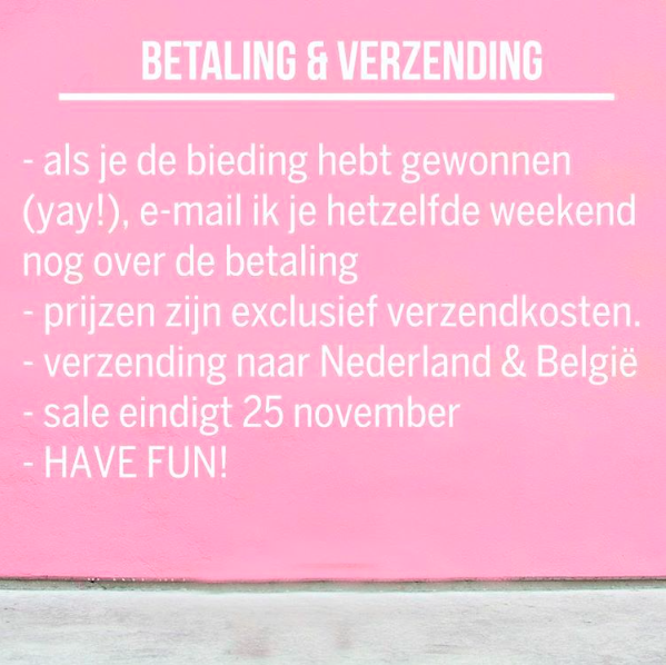 Hoe start je een succesvolle instagram closet sale