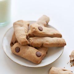 slanke chocolate chip cookies (weigh watchers smart points koekjes!)