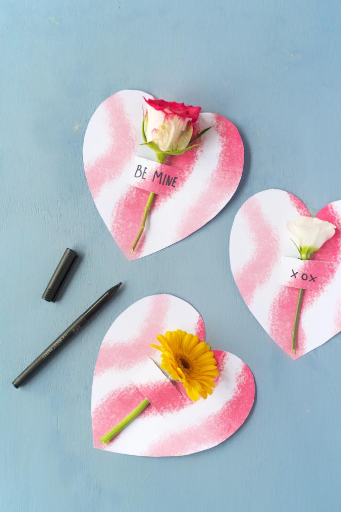 Valentijn DIY met bloemen 3