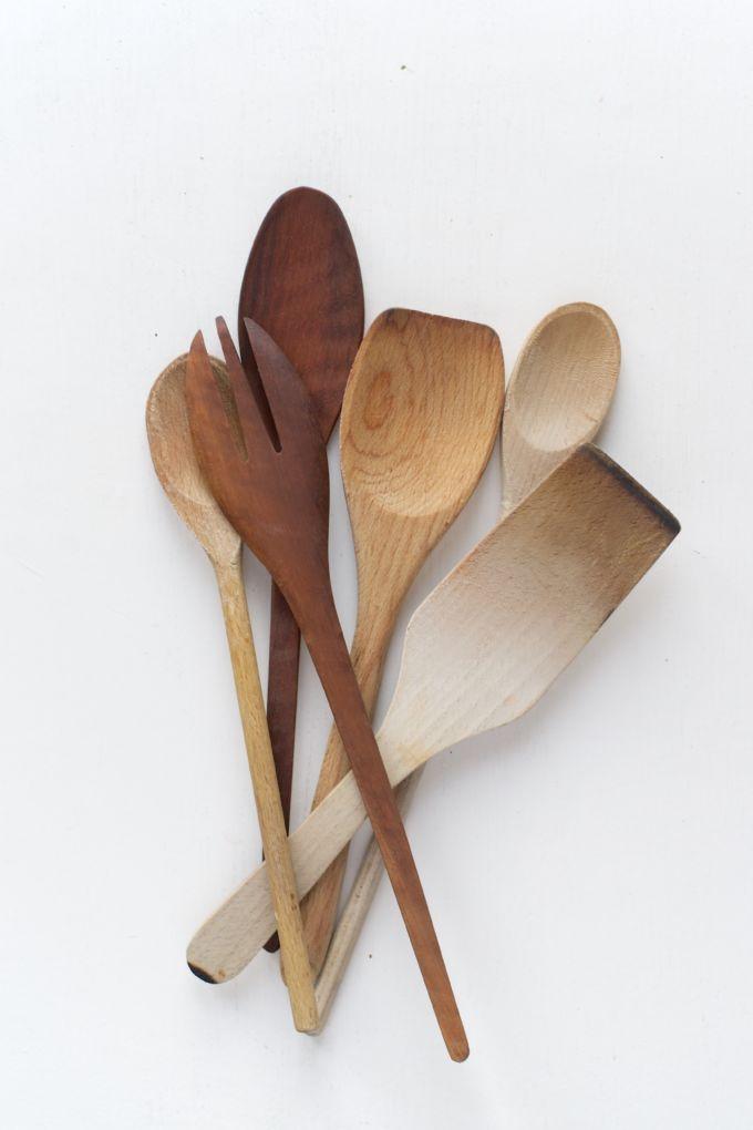 houten lepels verzorgen