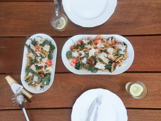 Beste zomerse pasta salade