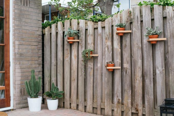 DIY driehoeken tuin-11