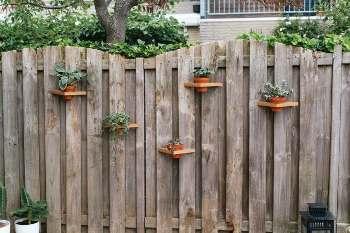 DIY driehoeken tuin-12
