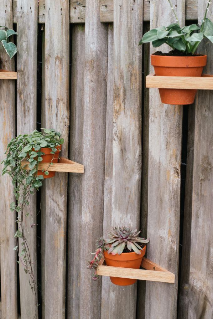 DIY driehoeken tuin-14