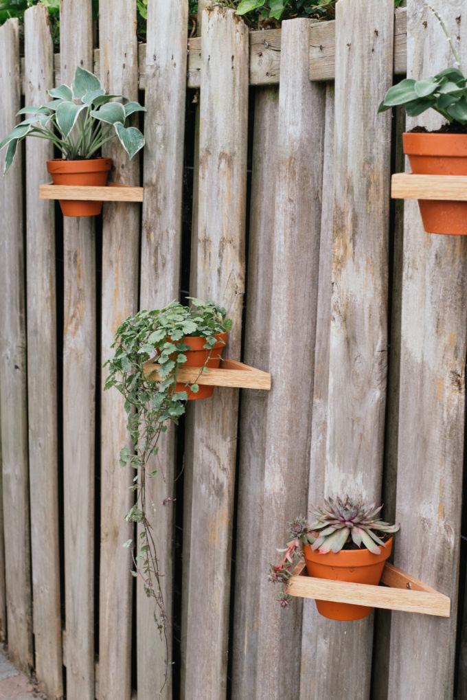 DIY driehoeken tuin-9