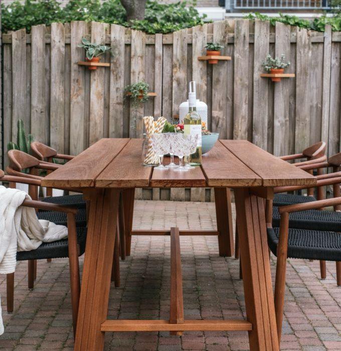 Hoe maak je een houten buitentafel (9)