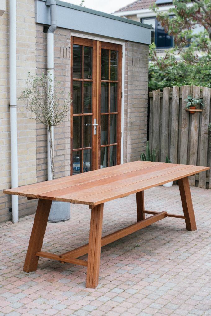 Zo bouw je een houten eettafel