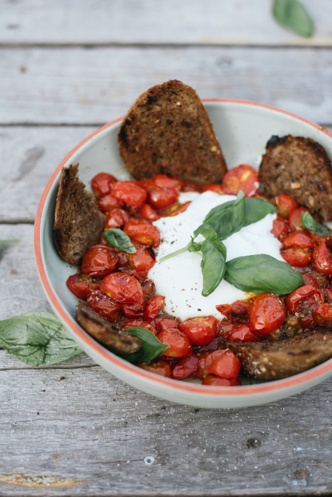 recept zomerse salade met tomaten