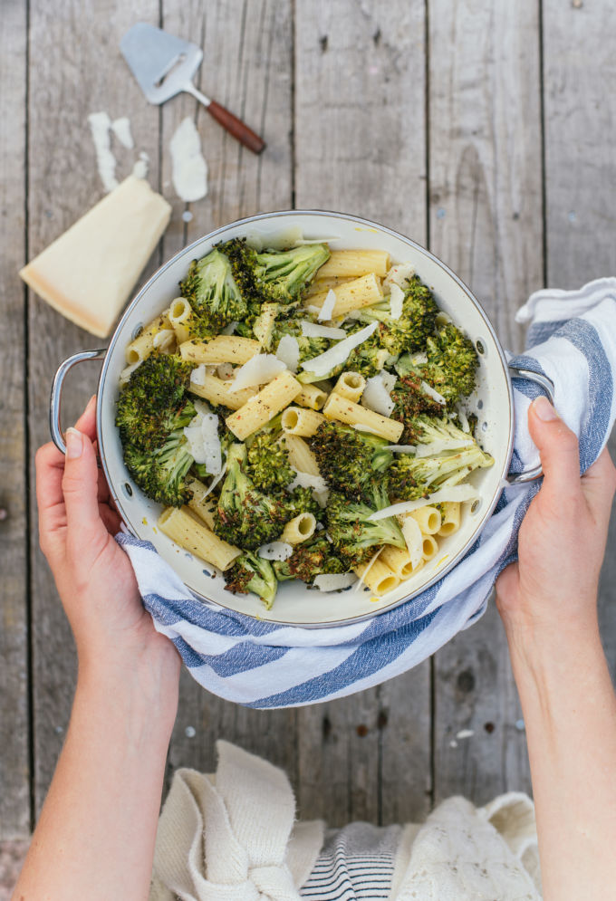 pasta met geroosterde broccoli-6