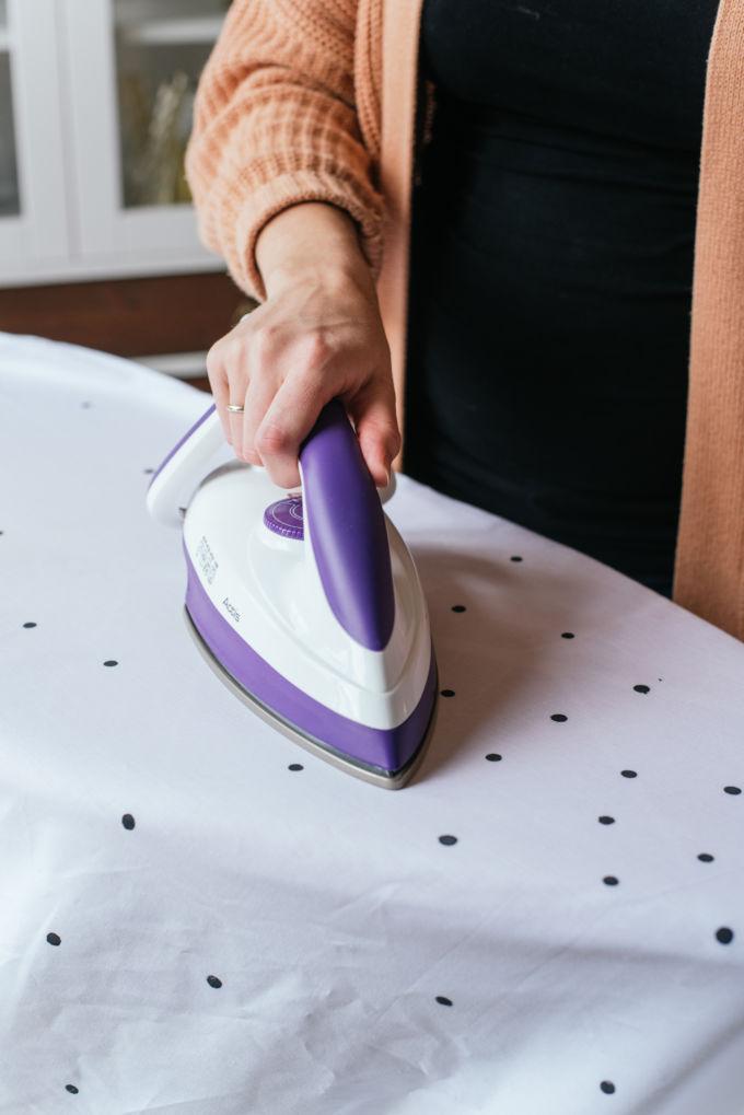 Stippen verven met textielverf