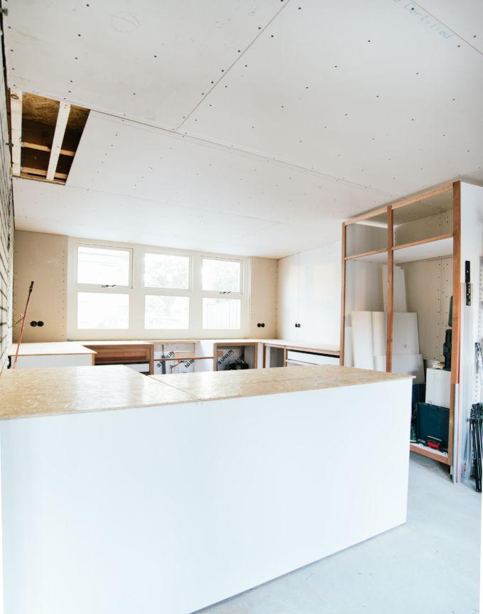 zelf een keuken bouwen