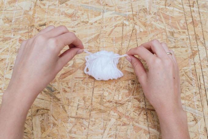 pompoms maken