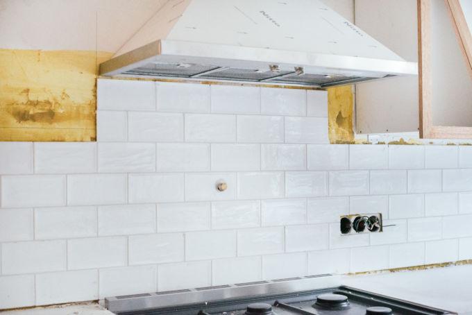 spatwand keuken tegelen