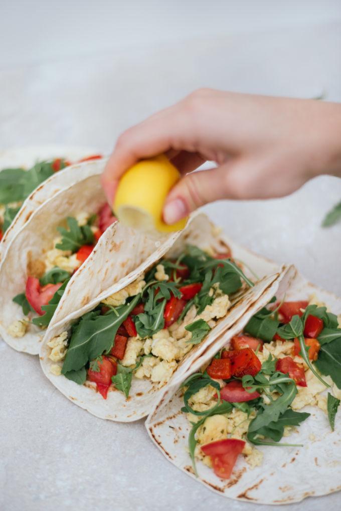 tortilla's met ei, ontbijt tortilla's-6