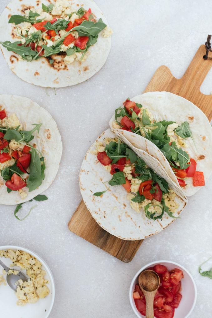 tortilla's met ei, ontbijt tortilla's-9