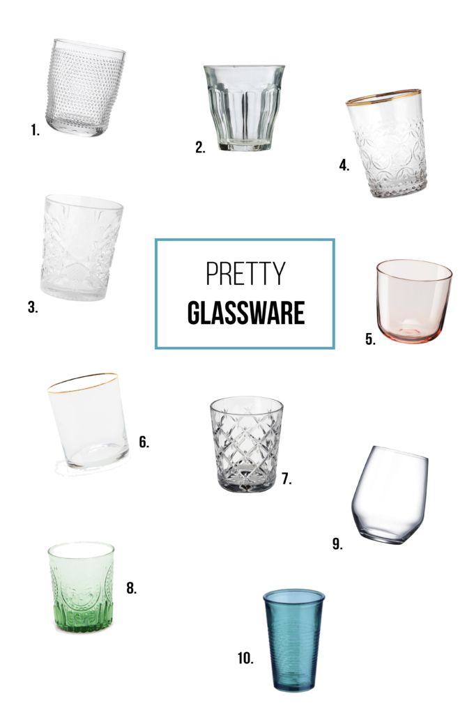 goedkope chique glazen
