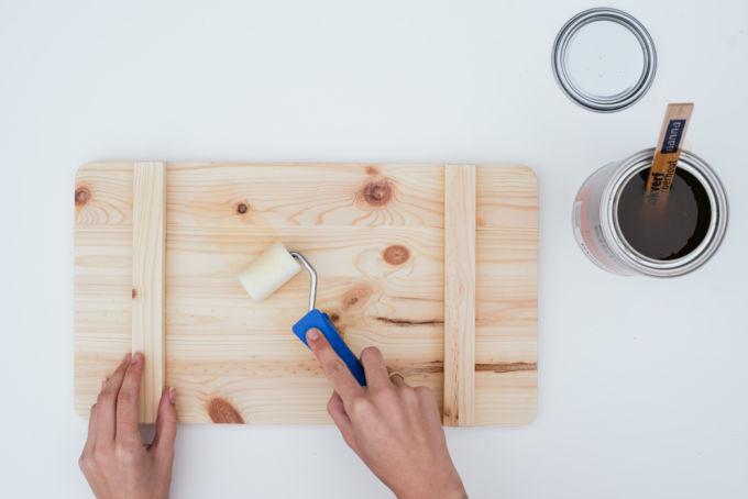 zelf een houten dienblad maken