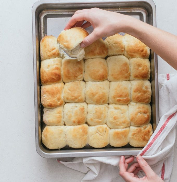 Butter buns (in 30 minuten!)