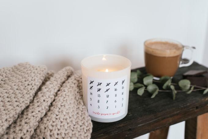 DIY adventskaars kerst cadeau-12