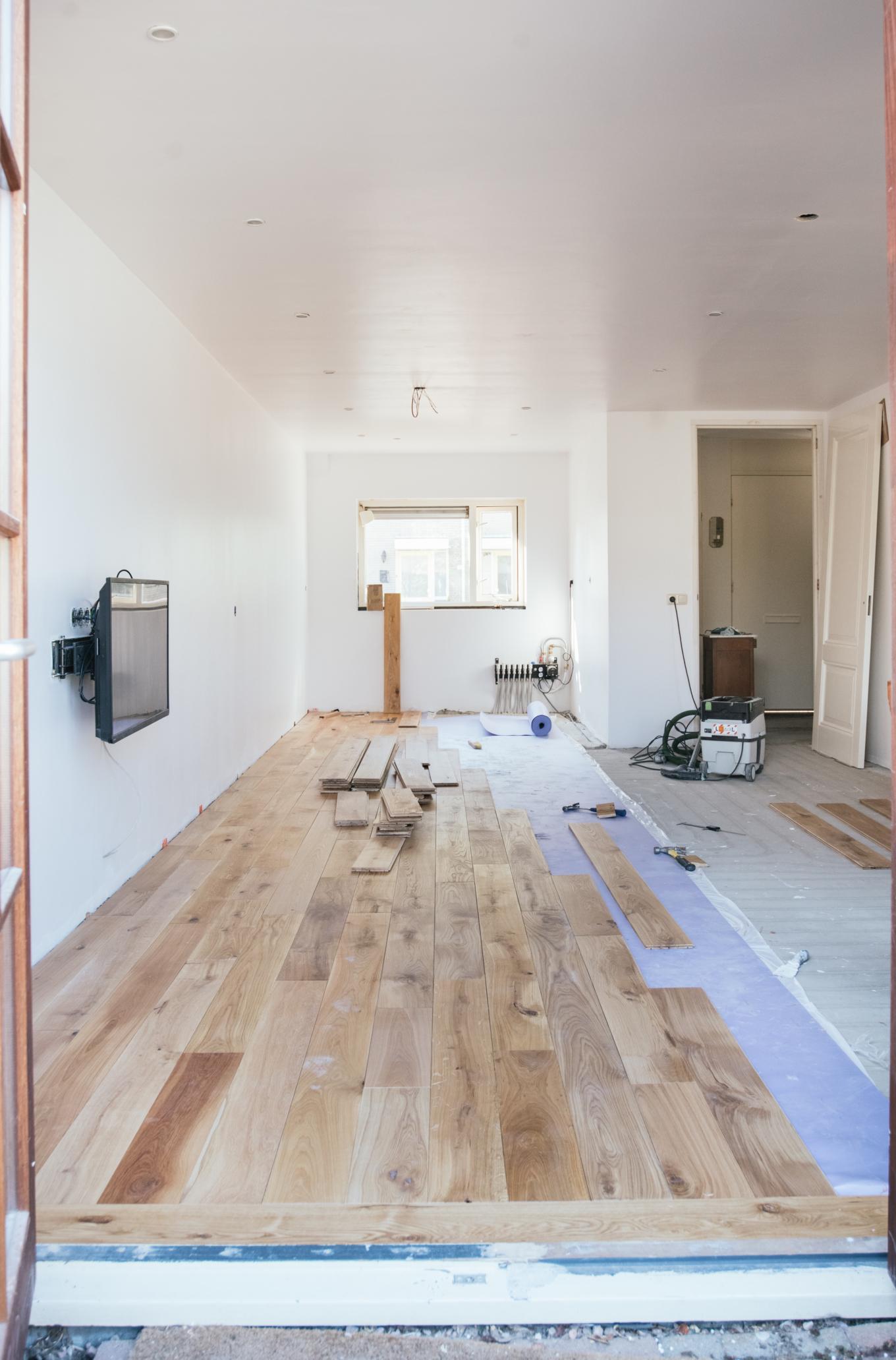 hoe houten vloer leggen-1-10