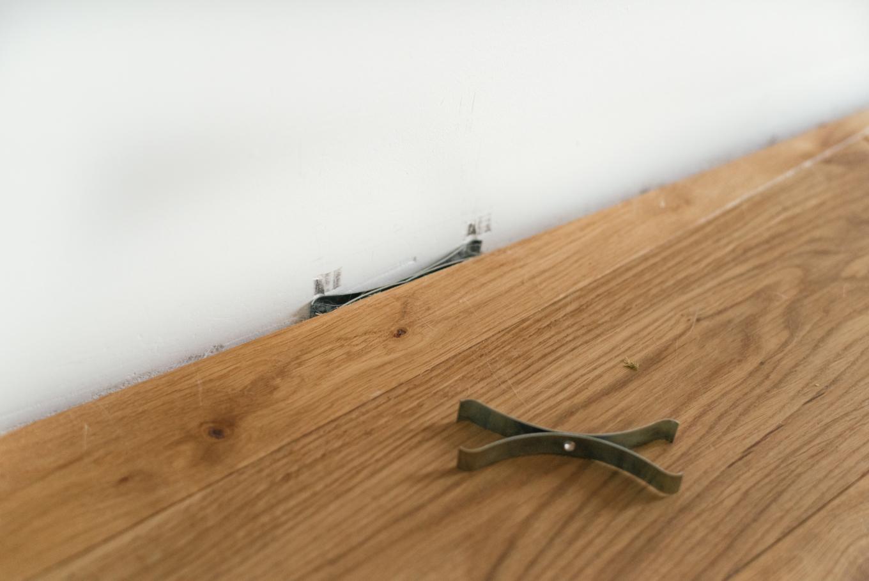 houten vloer leggen, goedkope houten vloer, outlet vloeren