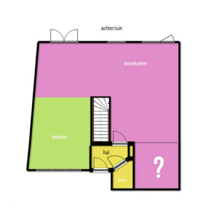 """Designplan: """"het woonkamerhoekje"""""""