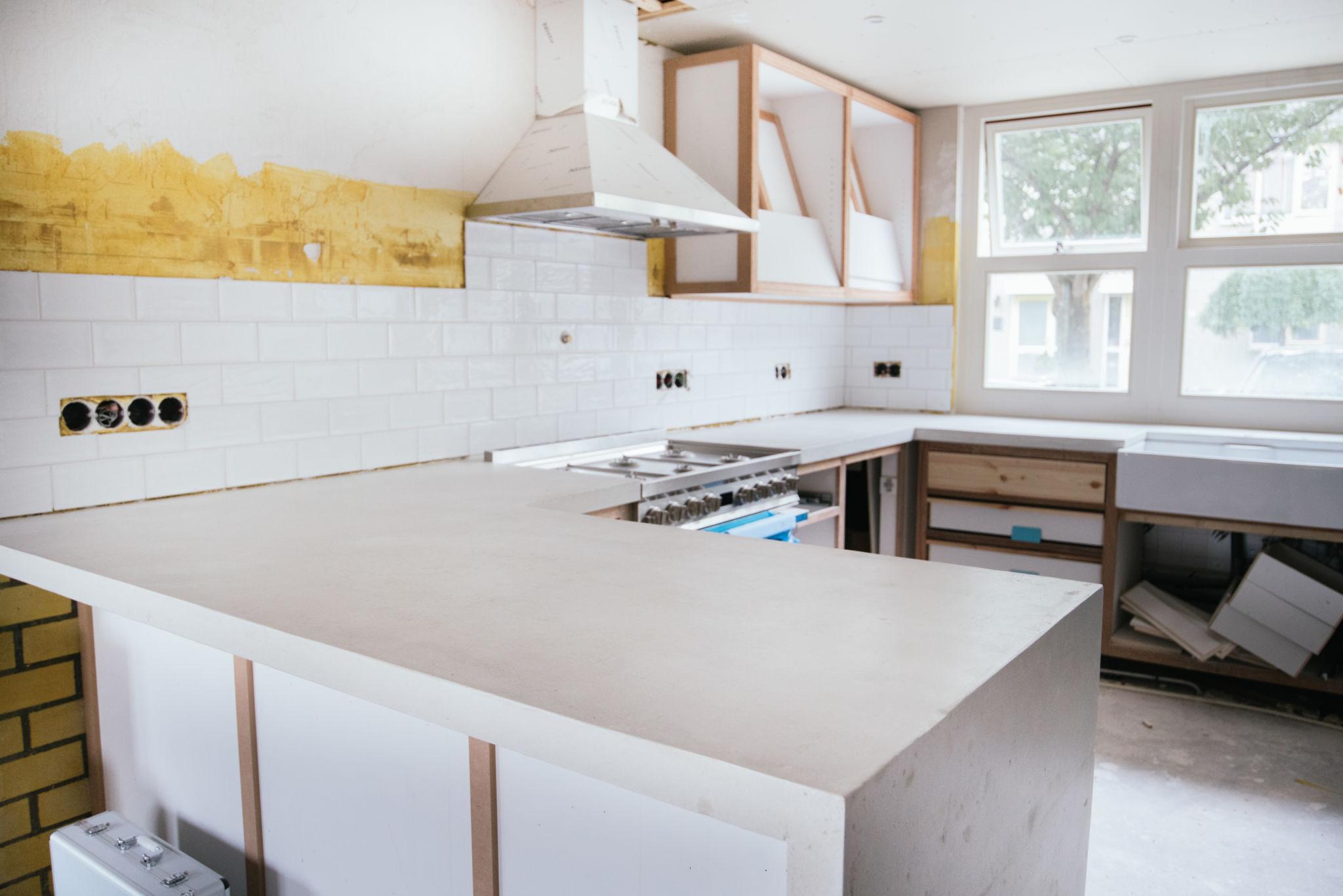 Hoe verf je je keuken blauw a cup of life for Zelf je keuken ontwerpen