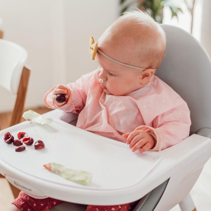 eerste hapjes baby, introductie vast voedsel, voedingsschema baby-5