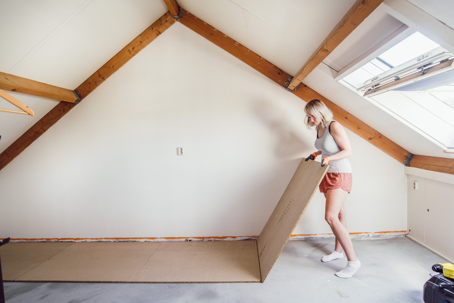 hoe leg je een houten vloer met nagels