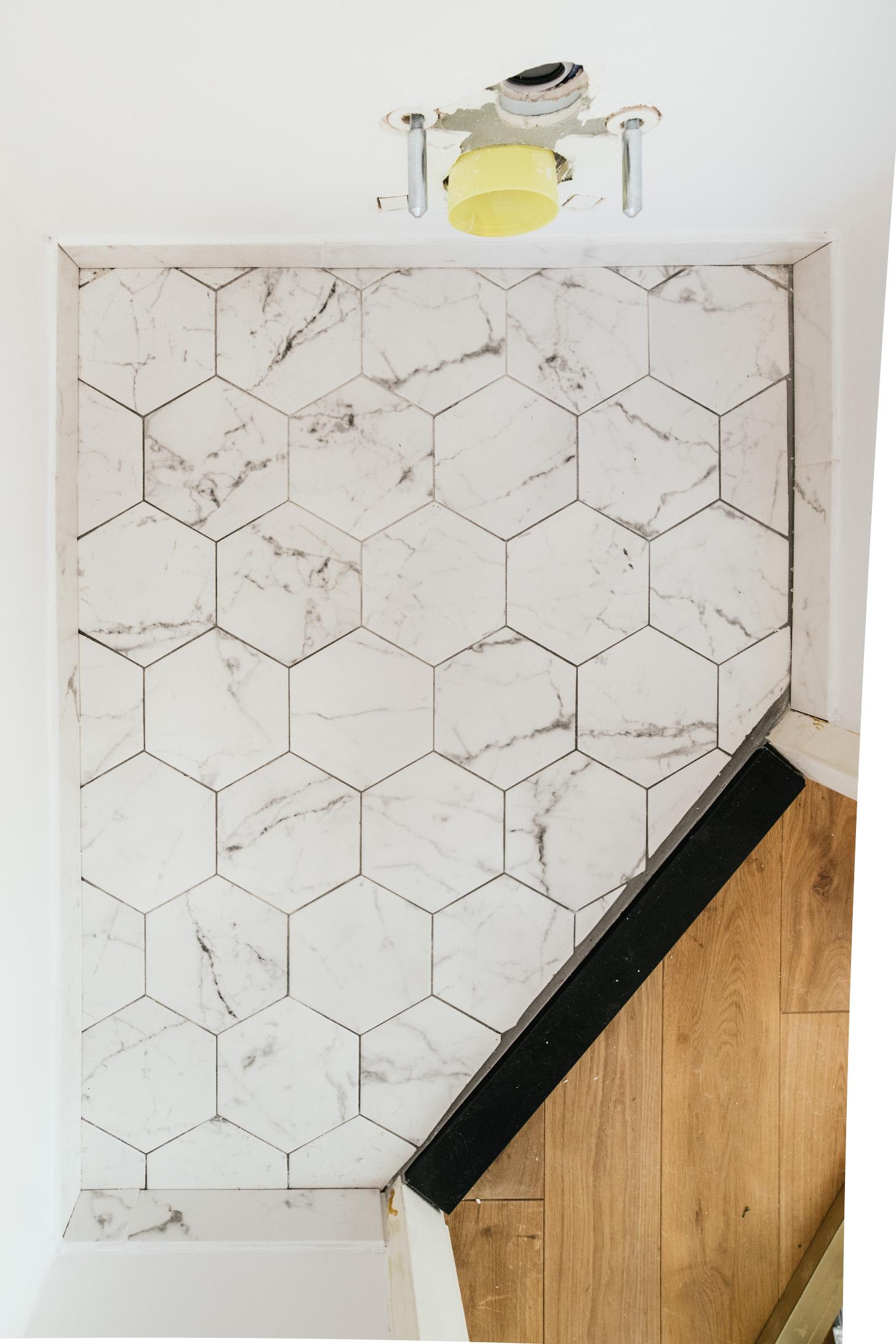 Hoe Leg Je Hexagon Tegels Honingraat Vloer A Cup Of Life