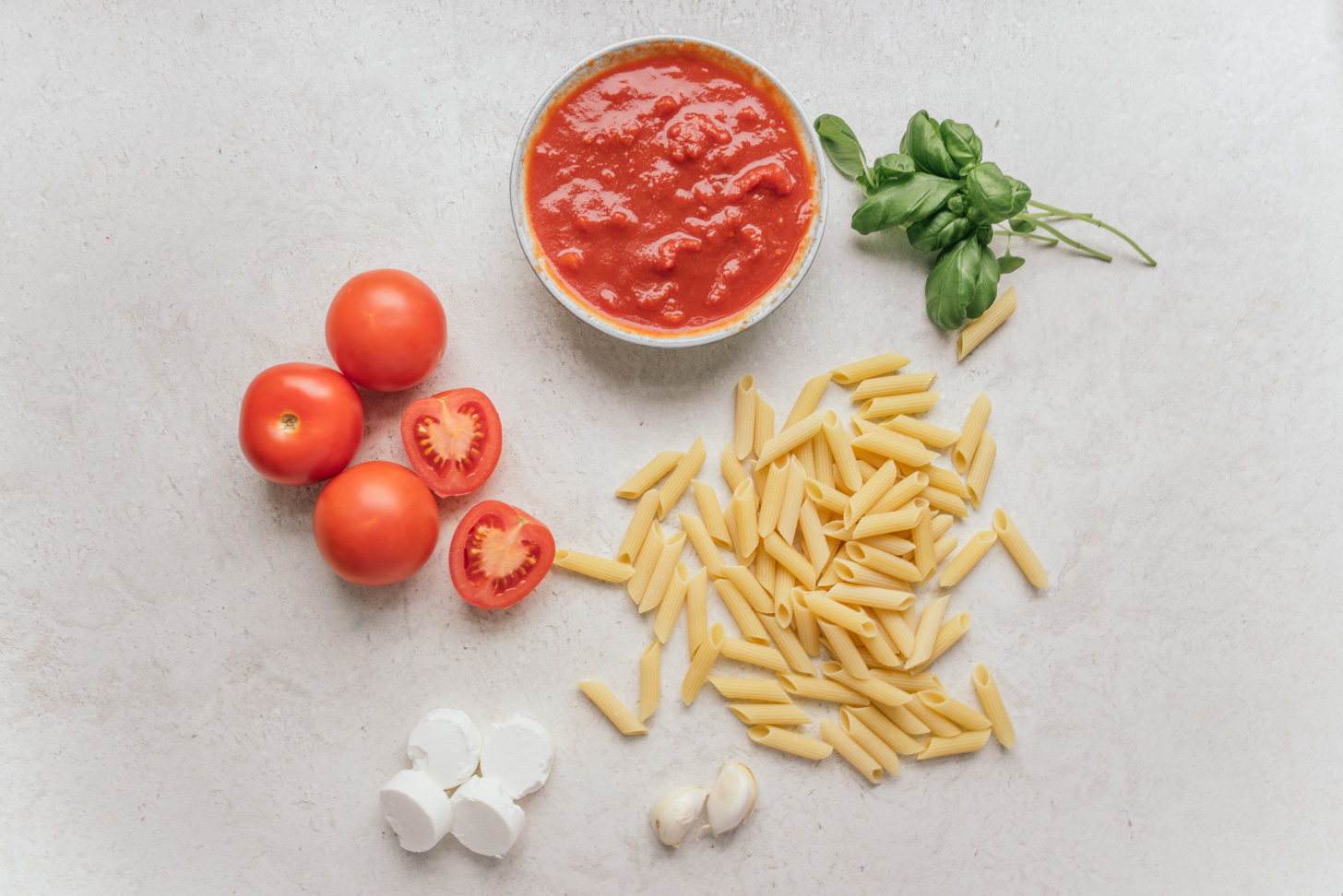 tomaten geitenkaas pasta reept