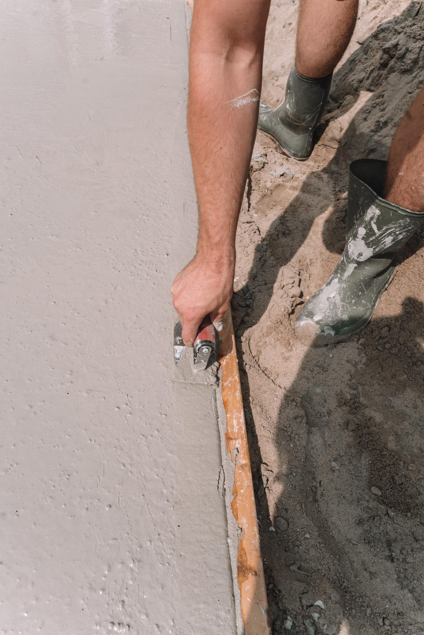 beton storten zelf